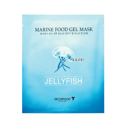 Skinfood Marine Food Gel Mask(Jellyfish) 5 Sheets (Jellyfish Extract compare prices)