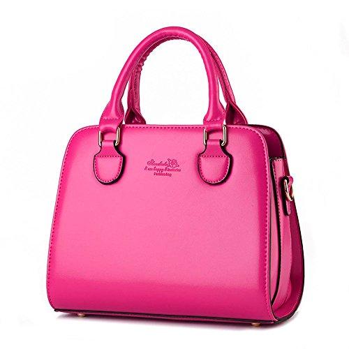 koson-man-damen-sling-vintage-tote-taschen-top-griff-handtasche-pink-rosarot-kmukhb258
