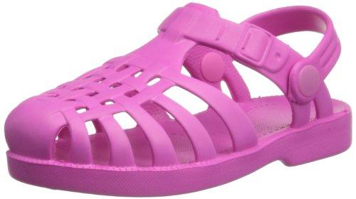Playshoes Beach / Bade-Sandalen 173990, Unisex-Kinder Sandalen, Pink (pink 18), EU 24/25