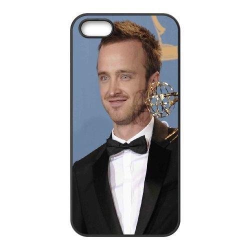 Aaron Paul Actor Reward Smile Jacket cover iPhone 4 4S caso cover di telefono cellulare della copertura della cassa del telefono cellulare nero EEEXLKNBC22658
