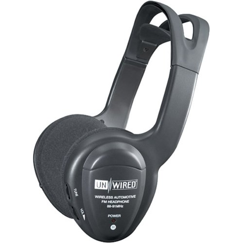 Unwired Technology Variable Tuning Fm Wireless Headphones