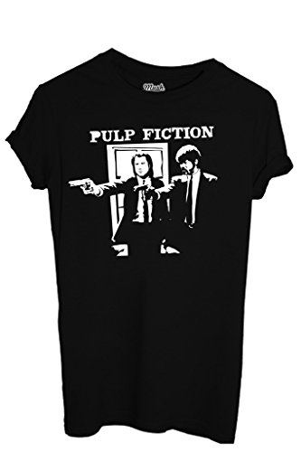 T-SHIRT PULP FICTION - MOVIE by MUSH Dress Your Style Uomo-M