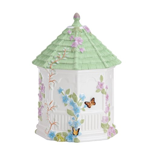 Lenox Butterfly Meadow Figurals Gazebo Cookie Jar, 10-Inch