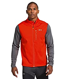 Under Armour Men\'s UA Storm ColdGear Infrared Run Vest Large Volcano