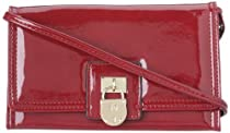 Hot Sale Anne Klein Rich And Famous On A String Wallet,Scarlet,One Size
