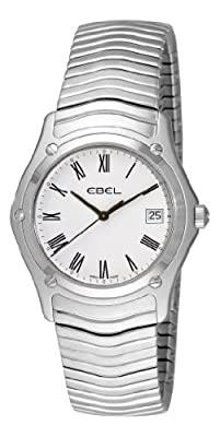 Ebel Men's 9255F41/0125 Classic White Roman Numeral Dial Watch