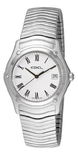 Ebel Men's 9255F41/0125 Classic White Roman Numeral Dial Watch
