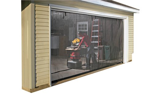 Shelterlogic 16 8 garage screen with roll up pipe home for 16x8 garage door prices