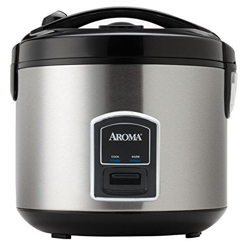 Professional 20-cup Stainless Steel Rice Cooker and Food Steamer (Tiger Rice Cooker Steam Tray compare prices)