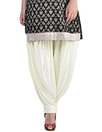 "RKFASHION Solid All Day All Time Comfortable Viscose Patiala Salwar ""Waist 28-40"", Length 40"" - B01LY88J4Z"