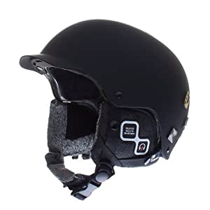 Salomon Brigade Audio Helmet Small Matte Black