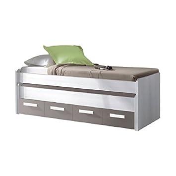 Mobimarket - Cama nido juvenil 2 camas y 2 cajones