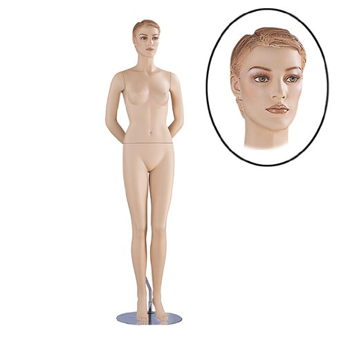 Female Designer Mannequin Display Flesh Tone NEW FJL3