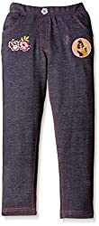 Disney Girls Trousers (TC 1696_Dark Grey_2-3 years)