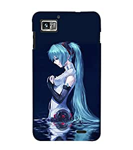 EPICCASE Pretty girl I lake Mobile Back Case Cover For Lenovo K860 (Designer Case)