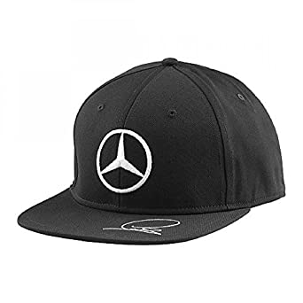Mercedes amg lewis hamilton flat brim cap 2015 for Mercedes benz hat amazon