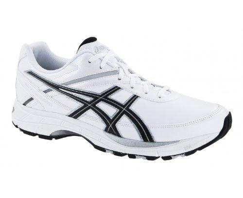 ASICS Gel-Fitwalk Lyte (2E) Men's Walking Shoes, White/Black, UK6