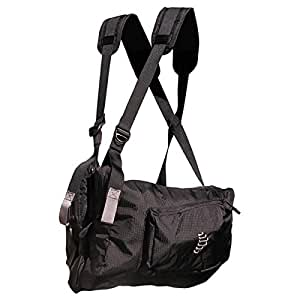 Ribz Front Pack (STEALTH BLACK, Small)