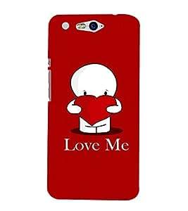 love me Designer Back Case Cover for Infocus M812