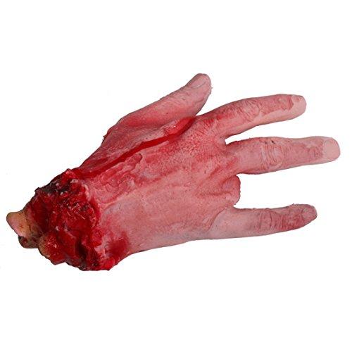 70g Halloween Geister Bar Tricky Terror Lebensechte gebrochenen Blut Hand Set 2pc