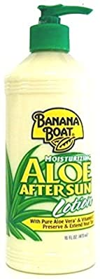 Banana Boat Aloe After Sun Lotion Pump 16oz (2 Pack)