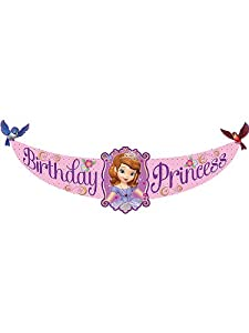 Disney Junior Sofia the First Birthday Princess Banner