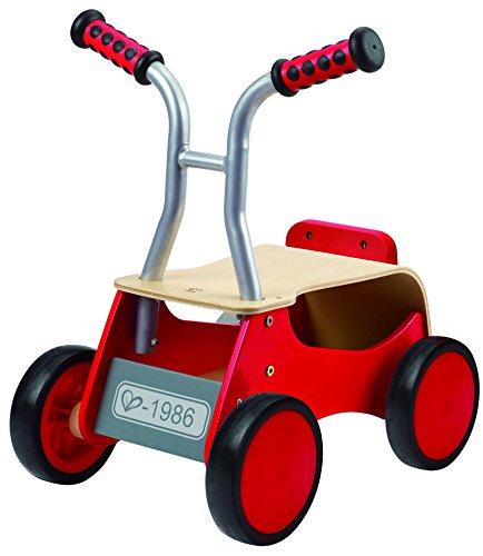 Hape E0374 Push & Pull - Little Red Rider Ride On
