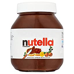 Nutella Hazelnut Chocolate Spread (750g)