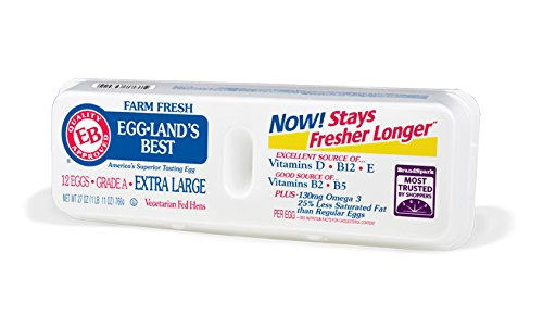 Eggland's Best Extra Large Grade A Eggs, 12 ct (Superior Source Omega 3 compare prices)