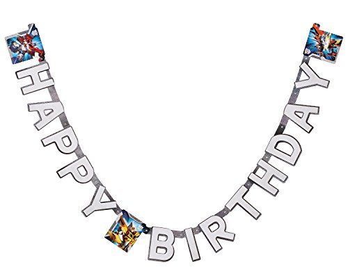American Greetings Transformers Birthday Party Banner - 1
