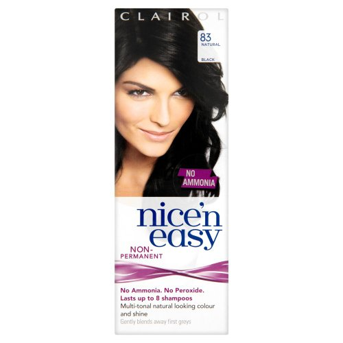 Clairol Nice'n'Easy Hair Colourant by Loving Care 83 Natural Black