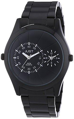Just Watches - Orologio da polso, analogico al quarzo, acciaio INOX, Uomo