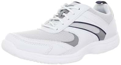 Rockport Men's Wachusett Trail Sport Sneaker,White,7 W US