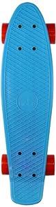 Ridge Retro 27 Skateboard complet Bleu/Rouge 27