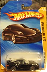 hot wheels 2010 porsche 911 gt2 new models black 014 long card. Black Bedroom Furniture Sets. Home Design Ideas