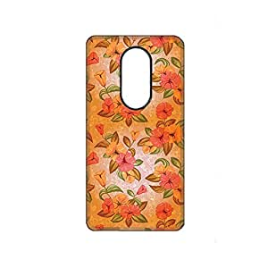 Vibhar printed case back cover for Moto X Play Floral-Pattern