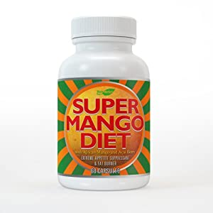 Super African Mango Diet Pills With Acai Berry 440mg Extreme Appetite Suppressant And Fat Burner For Fast Weight Loss from MetaHerbal