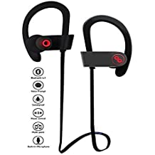Lava Iris Pro 30+ COMPATIBLE Professional Bluetooth 4.1 Wireless Stereo Sport Headphones Headset Running Jogger Hiking Exercise Sweatproof Hi-Fi Sound Hands-free Calling Supported Devices by Mobile Link