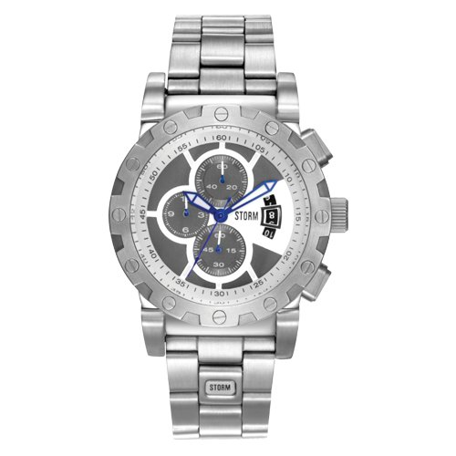 Storm Protek Silver Stainless Steel Bracelet Watch