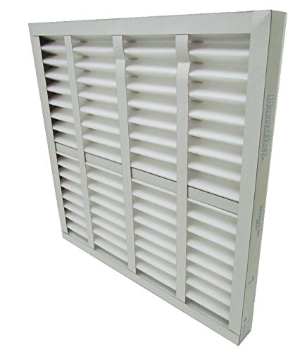 AIR HANDLER 20x20x2 Pleated Air Filter, MERV 7 (Case of 12)