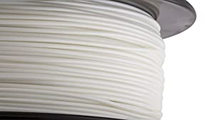 HATCHBOX 1.75mm White Performance PLA 3D Printer Filament - 1kg Spool (2.2 lbs) - Dimensional Accuracy +/- 0.03mm by HATCHBOX 3D Printer
