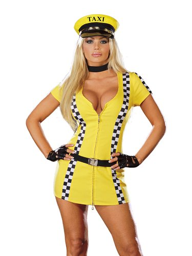 Cab Driver Taxi Driver Costume Career Costumes Sexy Dress