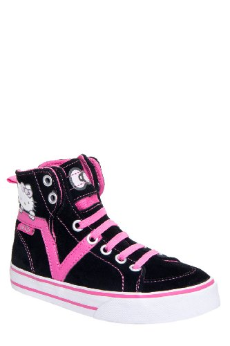Vans Kid's Susie Hi V Hello Kitty Lace Up High Top Sneaker