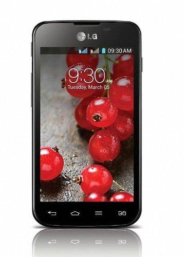 LG Optimus L5 II DUAL E455 Unlocked GSM Dual-SIM Android Smartphone - Black