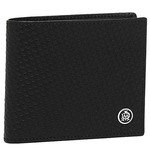 DUNHILL 【ダンヒル】 二つ折り財布 L2V332A MICRO D-EIGHT BLACK(ブラック)