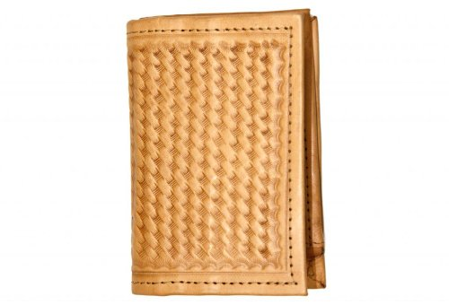 ropin-west-hand-tooled-leather-wallet-one-size-light-brown