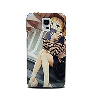 Styleo Samsung Galaxy S5 designer and printed case and cover Girl with Book