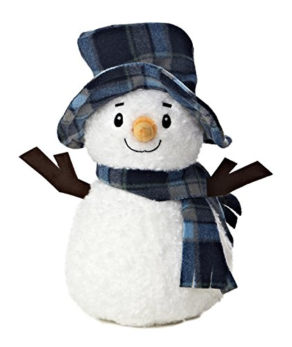 Aurora World Bundled Up Snowman Plush, 11""