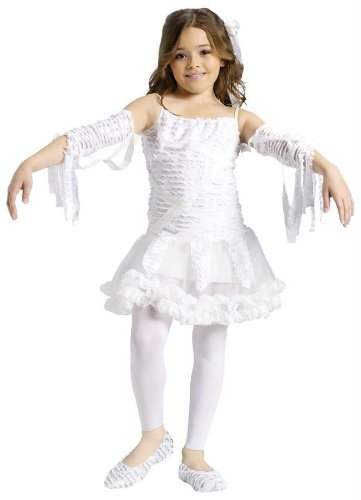 Costumes For All Occasions Fw110582Sm Tutu Mummy Child 4-6