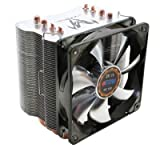 Titan FenRir EVO Universal CPU Cooler 4 Heatpipe with 120mm PWM Silent Kukri Fan TTC-NK85TZ/CS2/V3(RB)